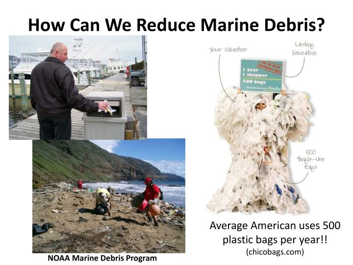 How Can We Reduce Marine Debris?