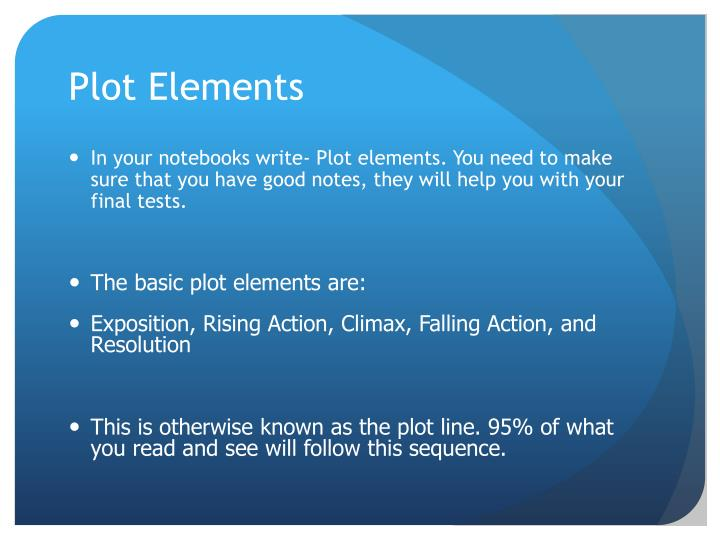 Plot Elements
