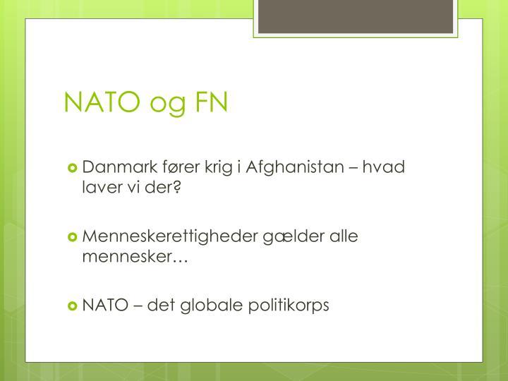 NATO og FN
