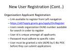 new user registration cont1