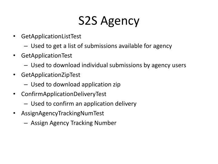 S2S Agency