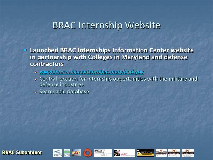 BRAC Internship Website