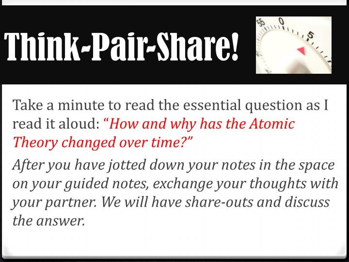 Think-Pair-Share!