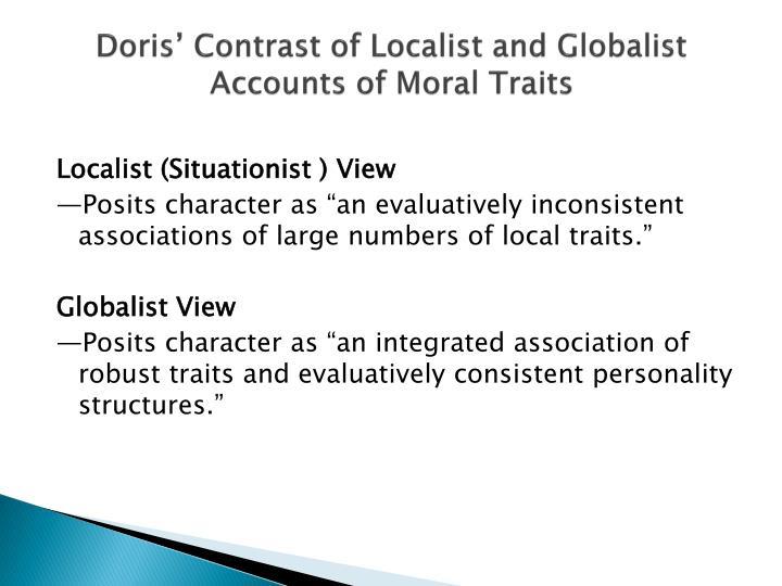Doris' Contrast of