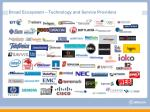 broad ecosystem technology and service providers