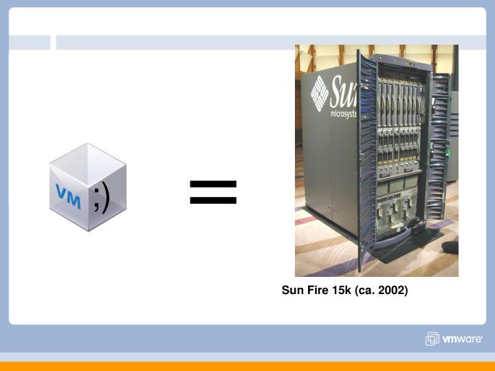 Sun Fire 15k (ca. 2002)