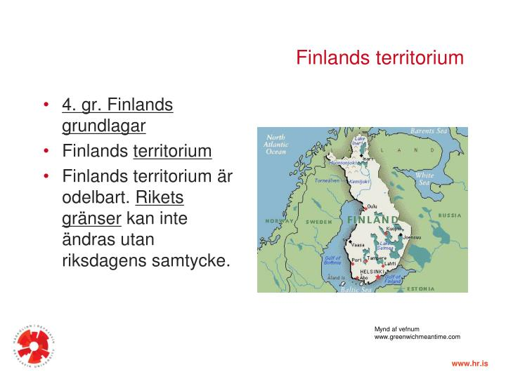 Finlands territorium