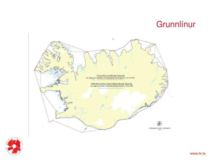 Grunnlínur