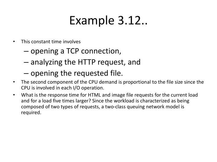 Example 3.12..