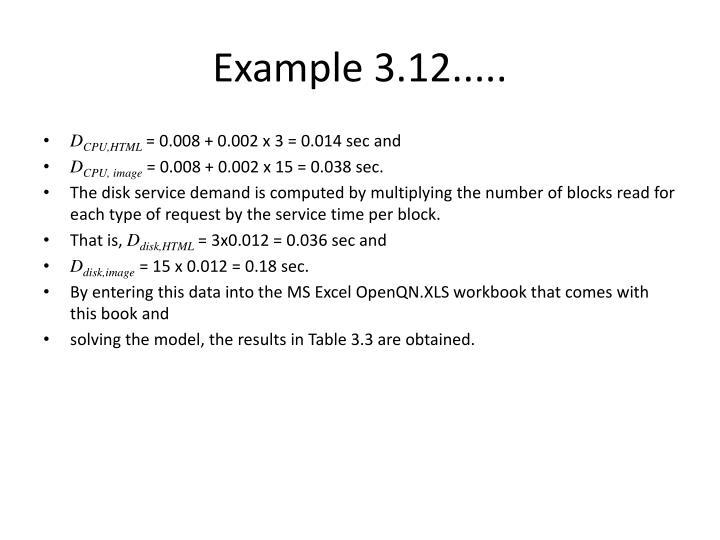 Example 3.12.....