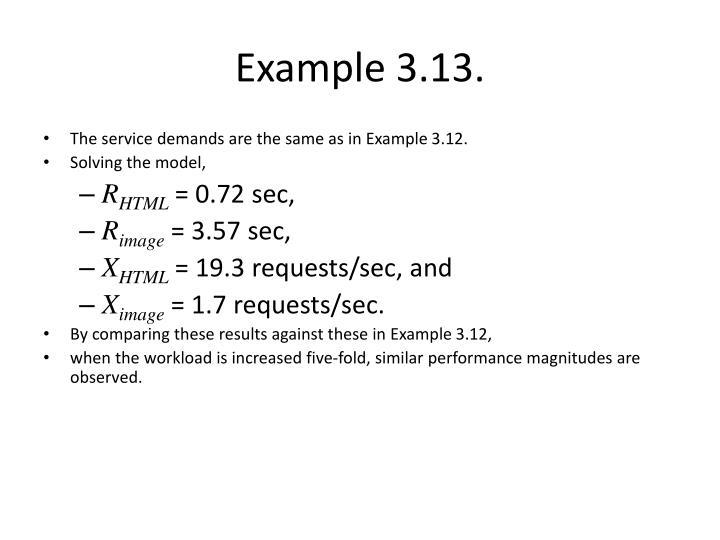 Example 3.13.