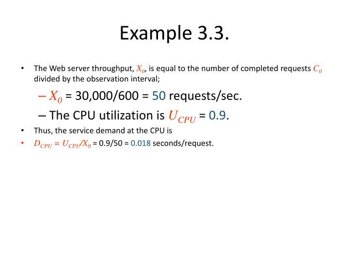 Example 3.3.