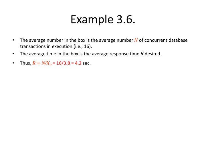 Example 3.6.