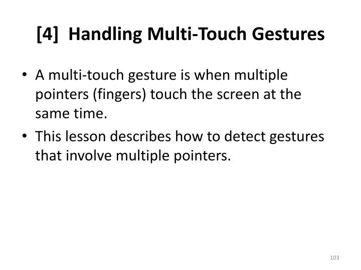 [4]  Handling