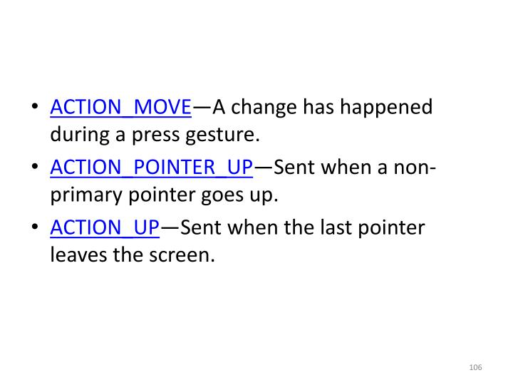 ACTION_MOVE