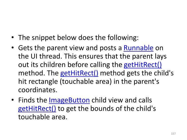 The snippet below does the following: