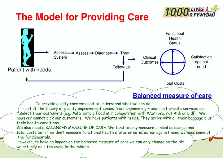 The Model for Providing Care