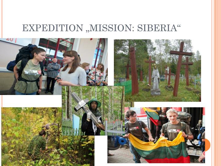 "EXPEDITION ""MISSION: SIBERIA"""
