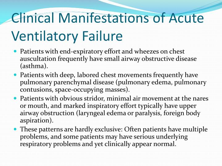 Clinical Manifestations of Acute