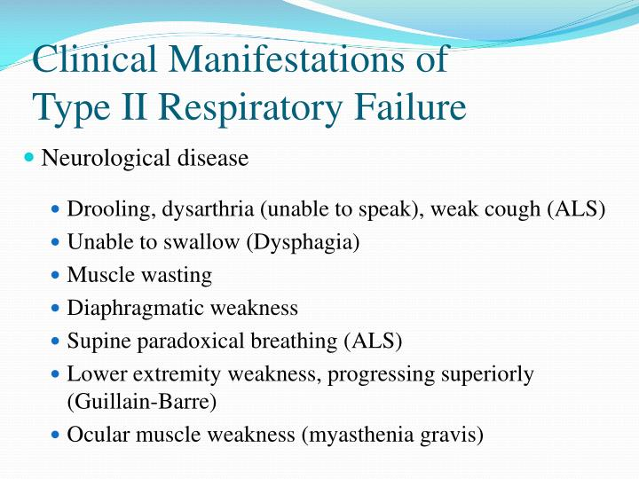 Clinical Manifestations of