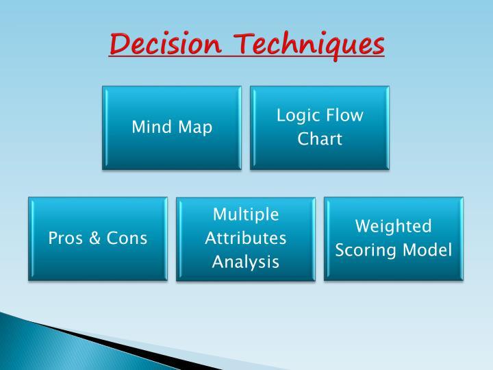 Decision Techniques