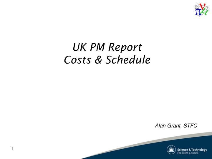 Uk pm report costs schedule
