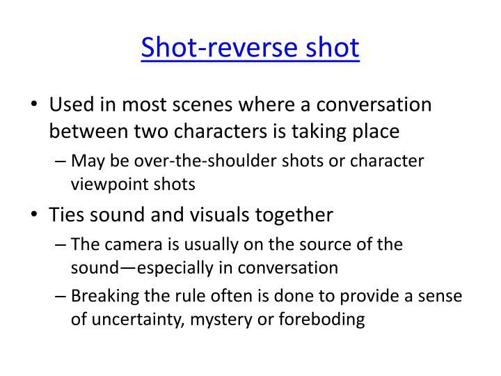 Shot-reverse shot