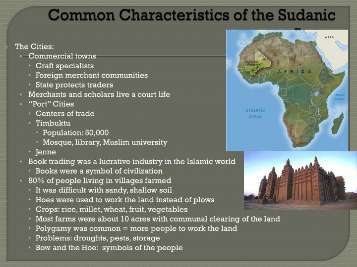 Common Characteristics of the