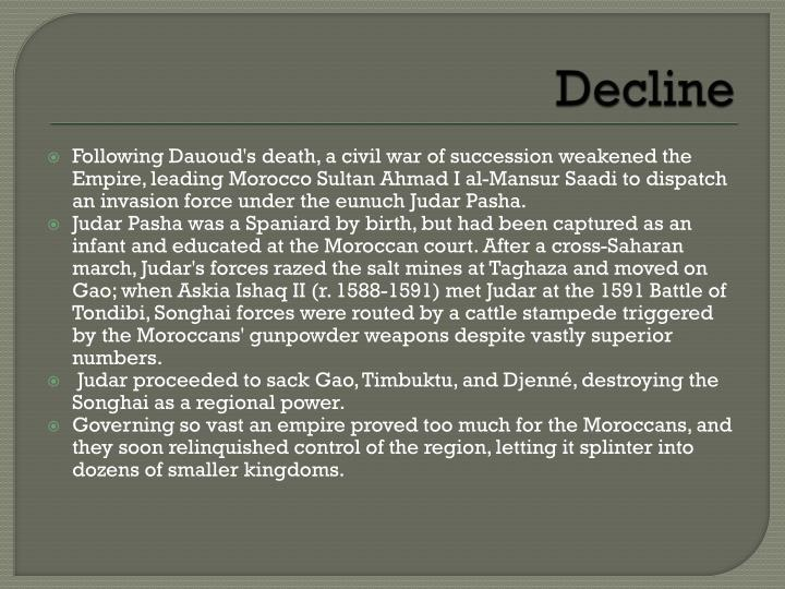 Decline