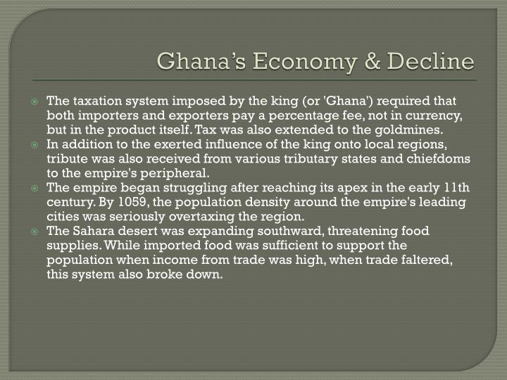 Ghana's Economy & Decline