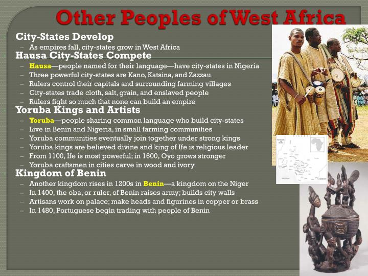 Other Peoples of West Africa