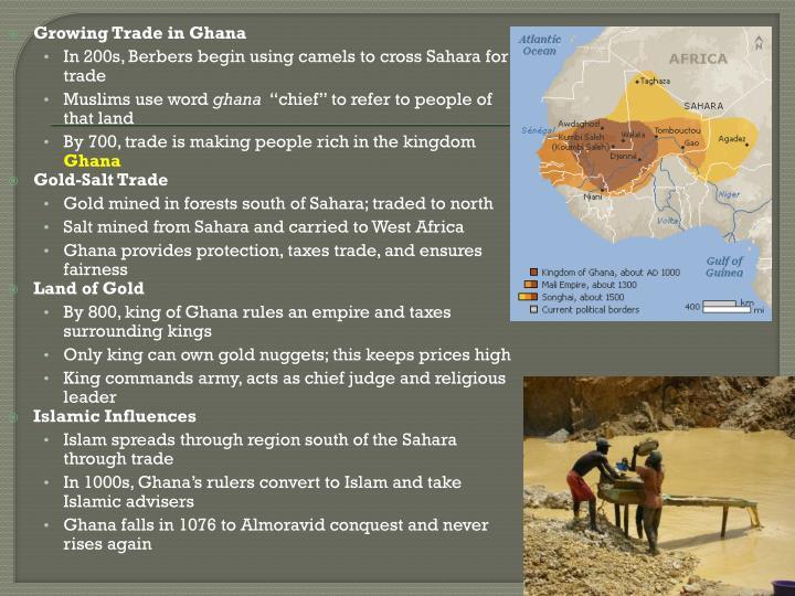 Growing Trade in Ghana