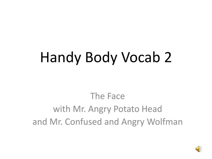 Handy body vocab 2