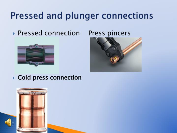 Pressed and plunger