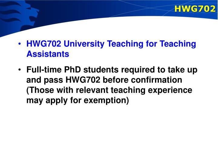 HWG702
