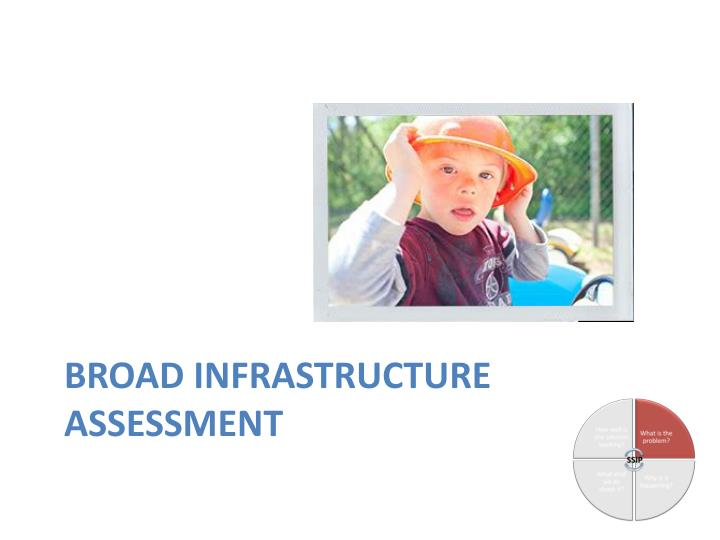 Broad Infrastructure Assessment