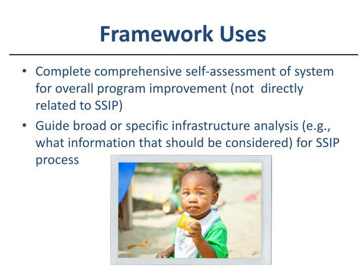 Framework Uses