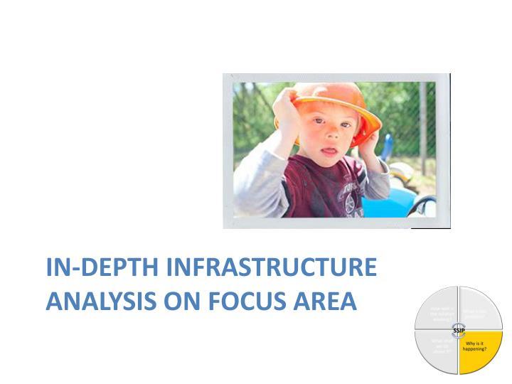 In-depth Infrastructure Analysis on focus area