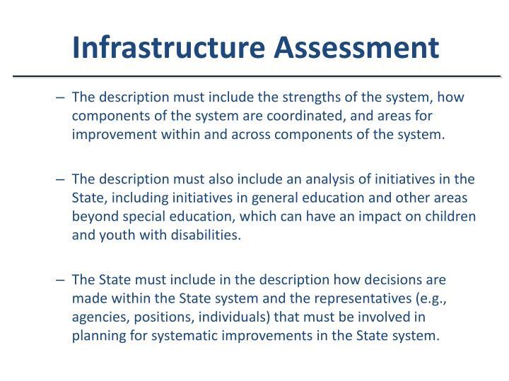 Infrastructure Assessment