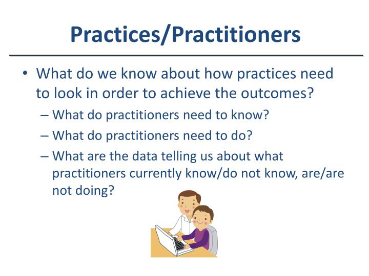 Practices/Practitioners