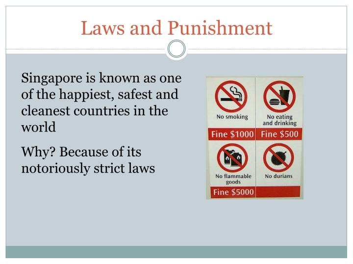 Laws and Punishment