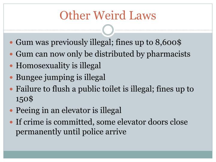 Other Weird Laws