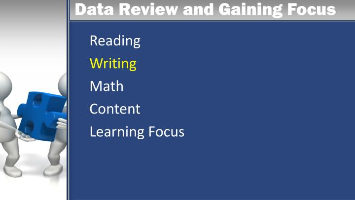 Data Review and Gaining Focus