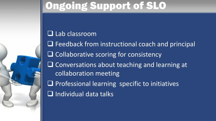 Ongoing Support of SLO