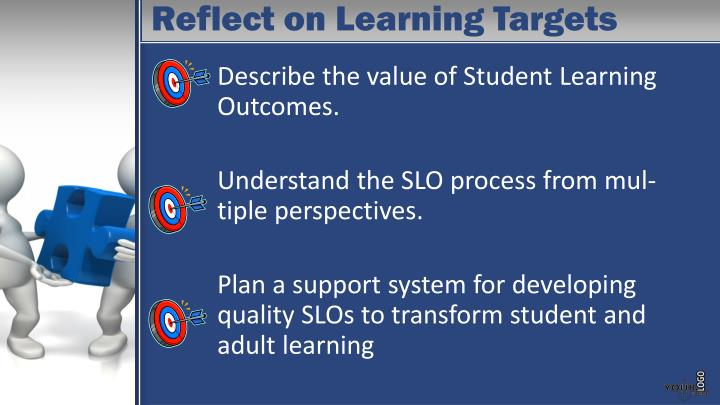 Reflect on Learning Targets
