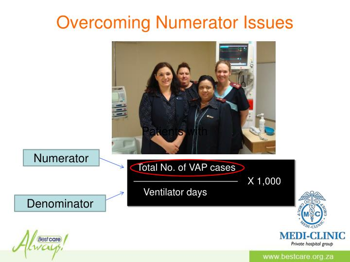 Overcoming Numerator Issues