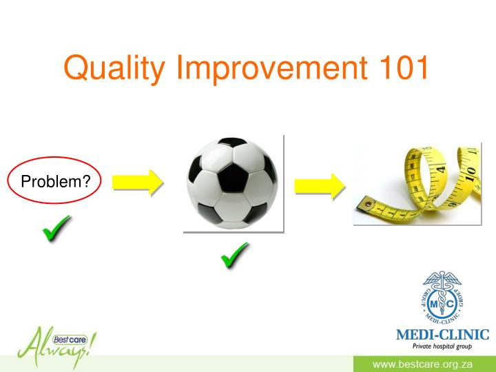 Quality Improvement 101