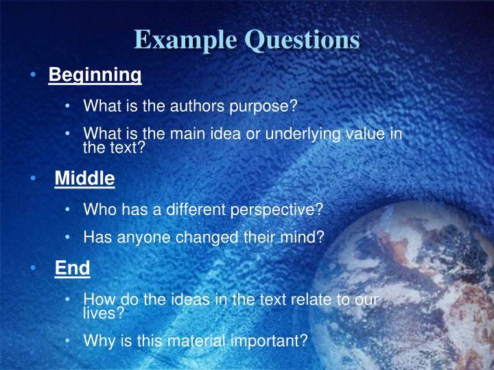 Example Q