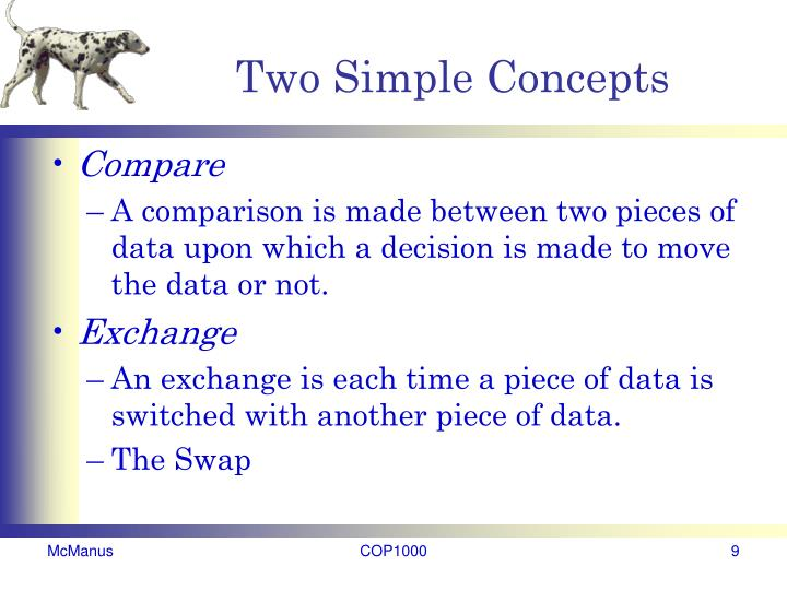 Two Simple Concepts