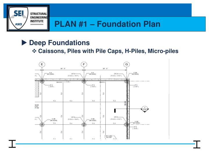 Ppt reading structural drawings powerpoint presentation for How to read foundation blueprints